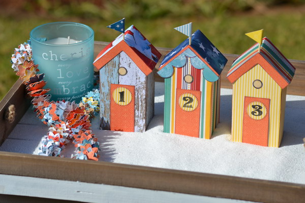 Party Items/Decor by Denise van Deventer using the BoBunny Boardwalk Collection