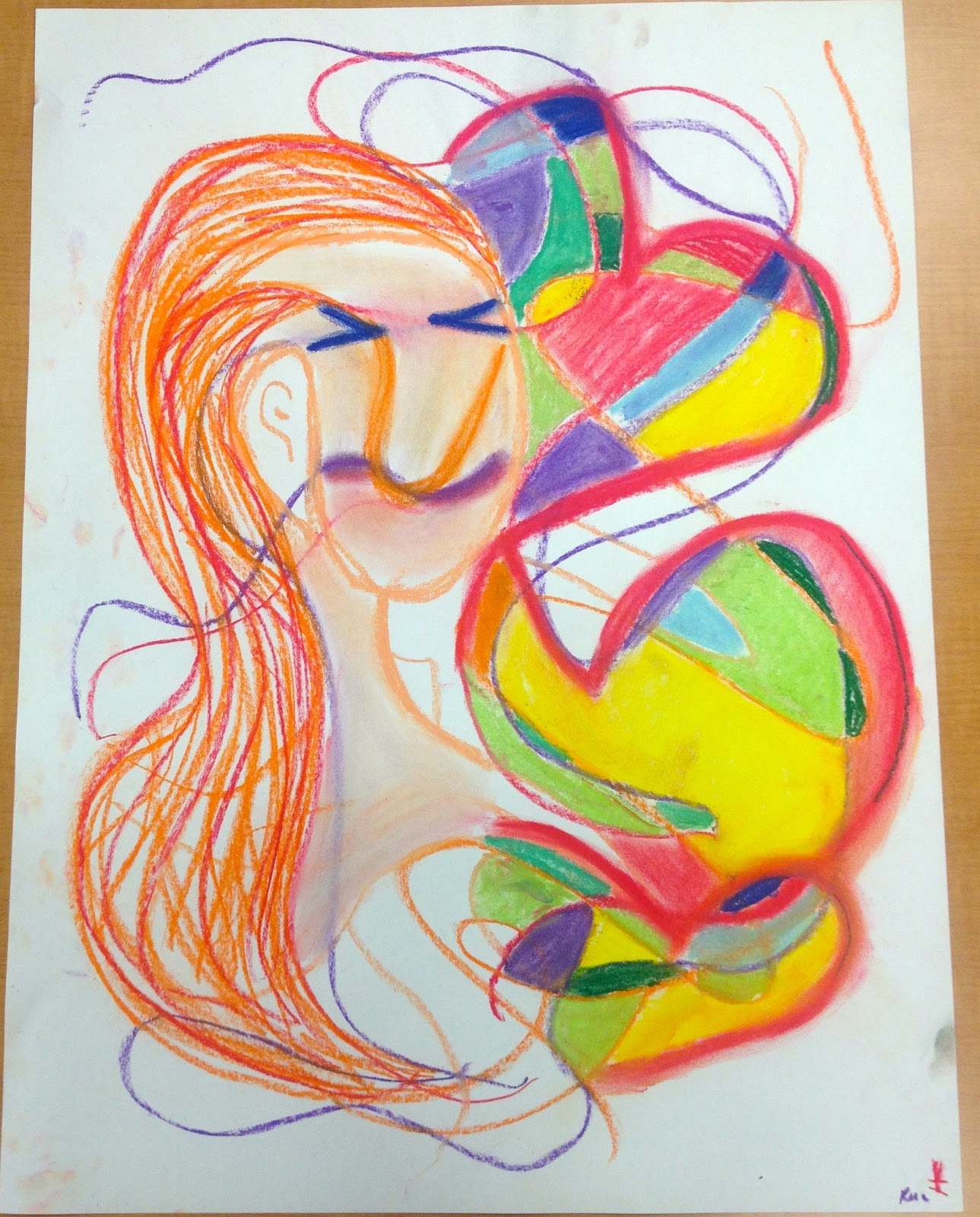 Scribble Drawing Art Therapy : Rachel mims artist ms art therapy therapeutic use of
