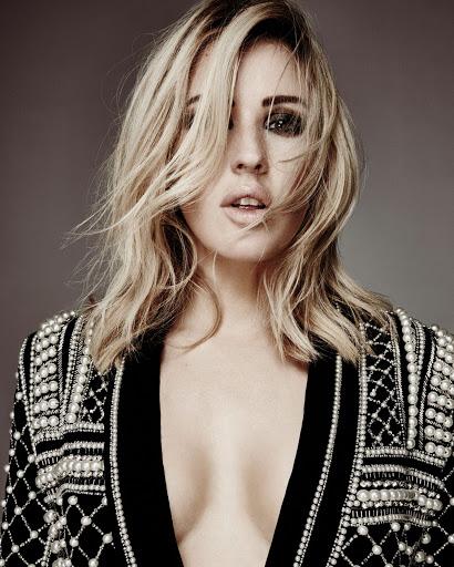 Ellie Goulding Glamour UK Magazine November 2015 Photo shoot