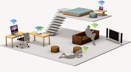 Imagen de casa conectada