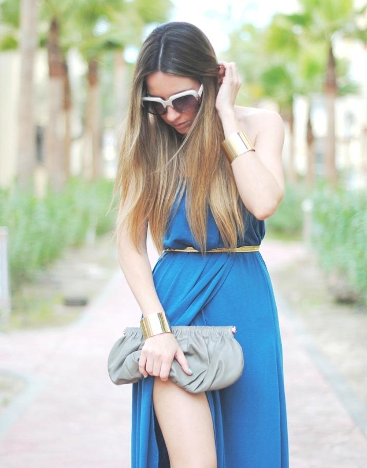 Vestido tipo griego en blog de moda de Mónica Sors, México