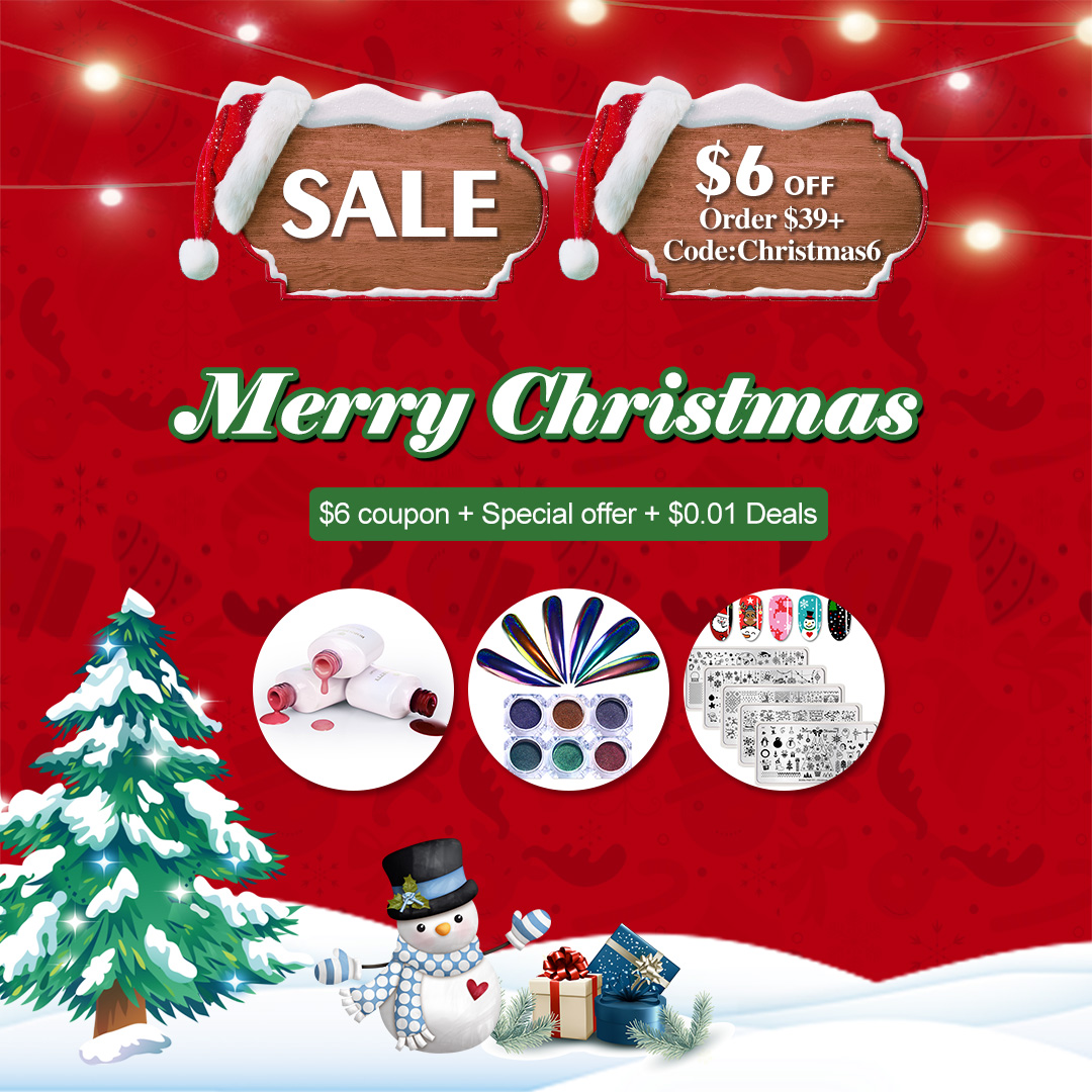 BORN PRETTY CHRISTMAS SALES  from 20th to 28th December 2018