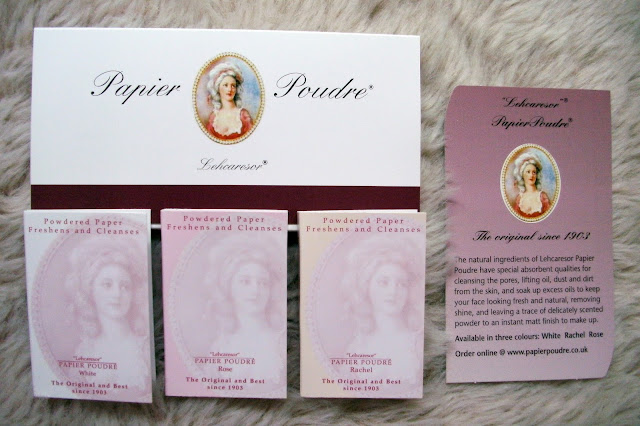 Papier Poudre Gift Pack of 3 in different finishes