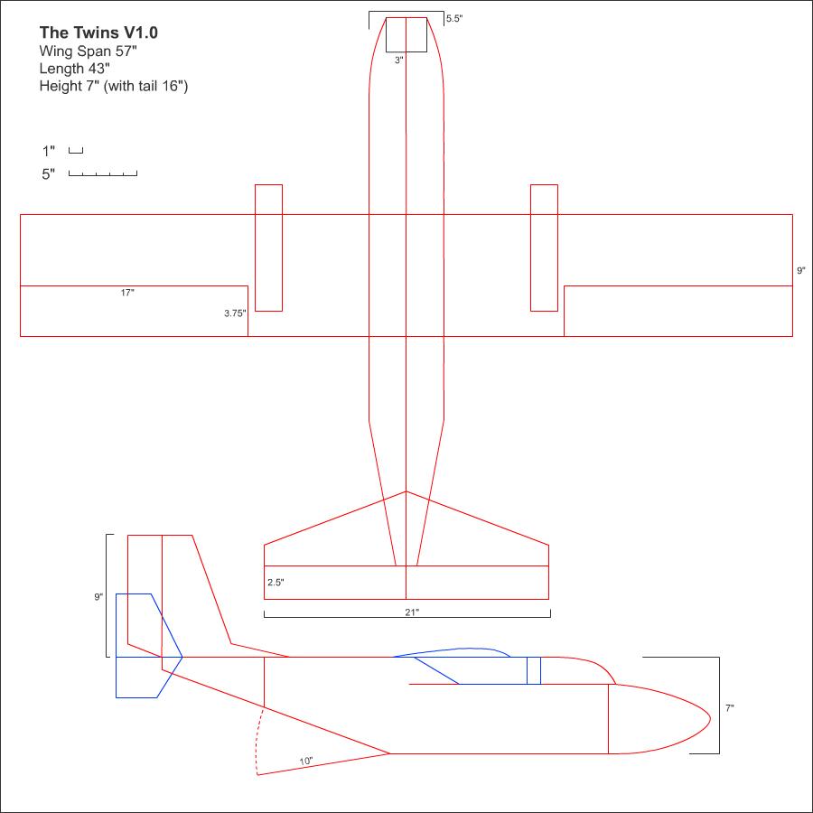 The Twins Cargo Plane Part 1 Gforce Rc Planes