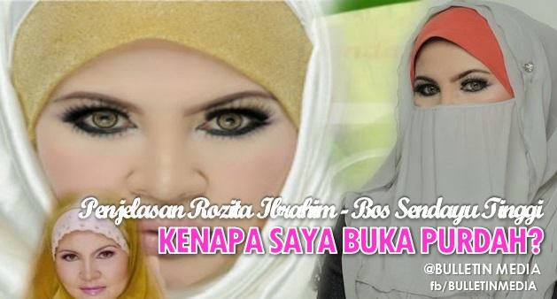 Rupa-Rupanya Inilah SEBAB Pengasas Sendayu Tinggi, Rozita Ibrahim Buka Purdah Secara Tiba-Tiba Selepas 3 Tahun!