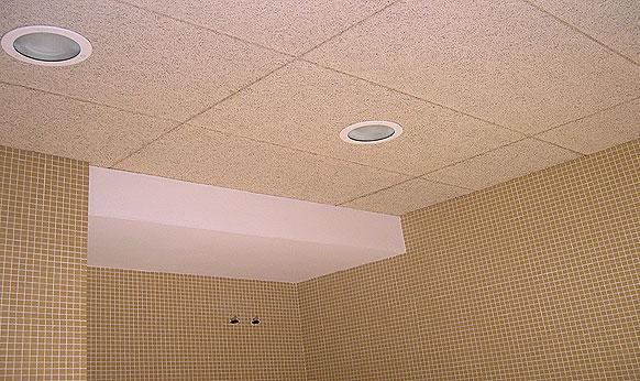 Catalana de techos techos registrables for Placas decorativas para techos