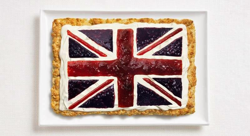 United Kingdom - Scone, cream, jams