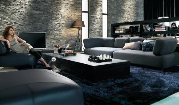 Interior designs homes: diseño de muebles con estilo para una sala ...