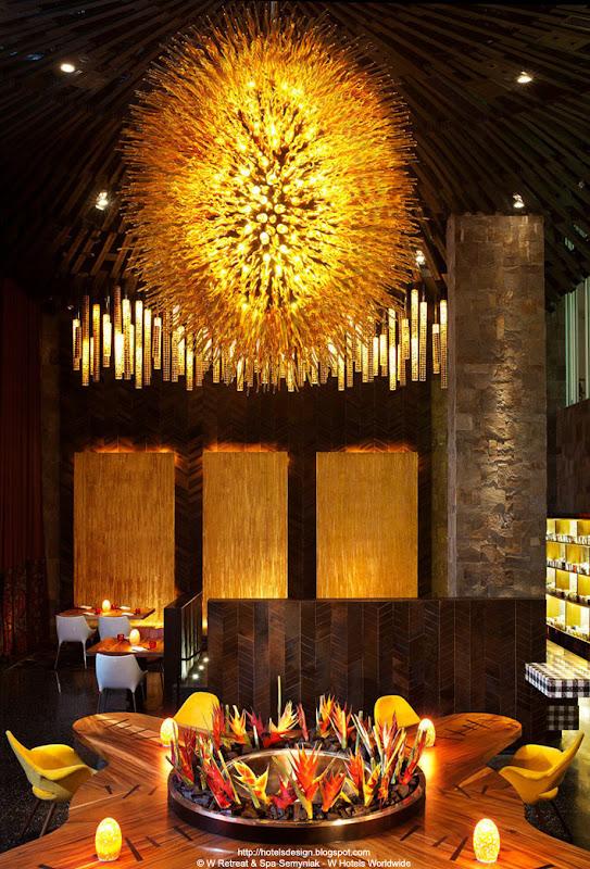Les plus beaux hotels design du monde hôtel w retreat