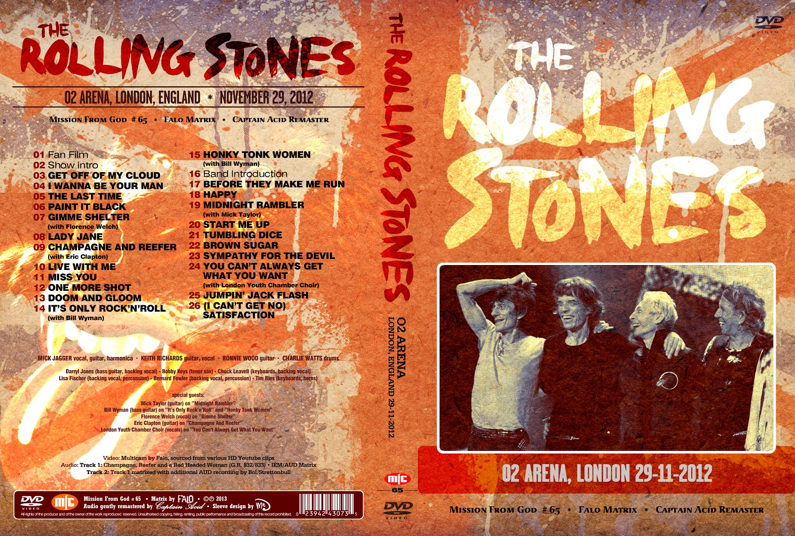 matrix rock music and rolling stones