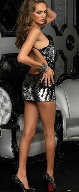 Sequin Sexy dress
