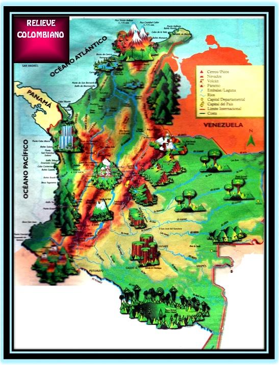 Croquis De Mapa De Colombia
