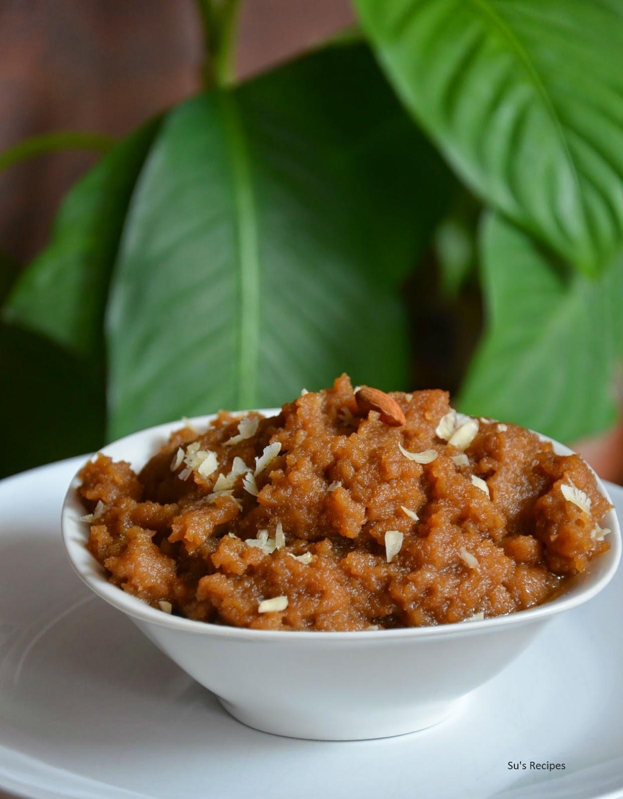 how to make aate ka halwa, recipe of aate ka halwa