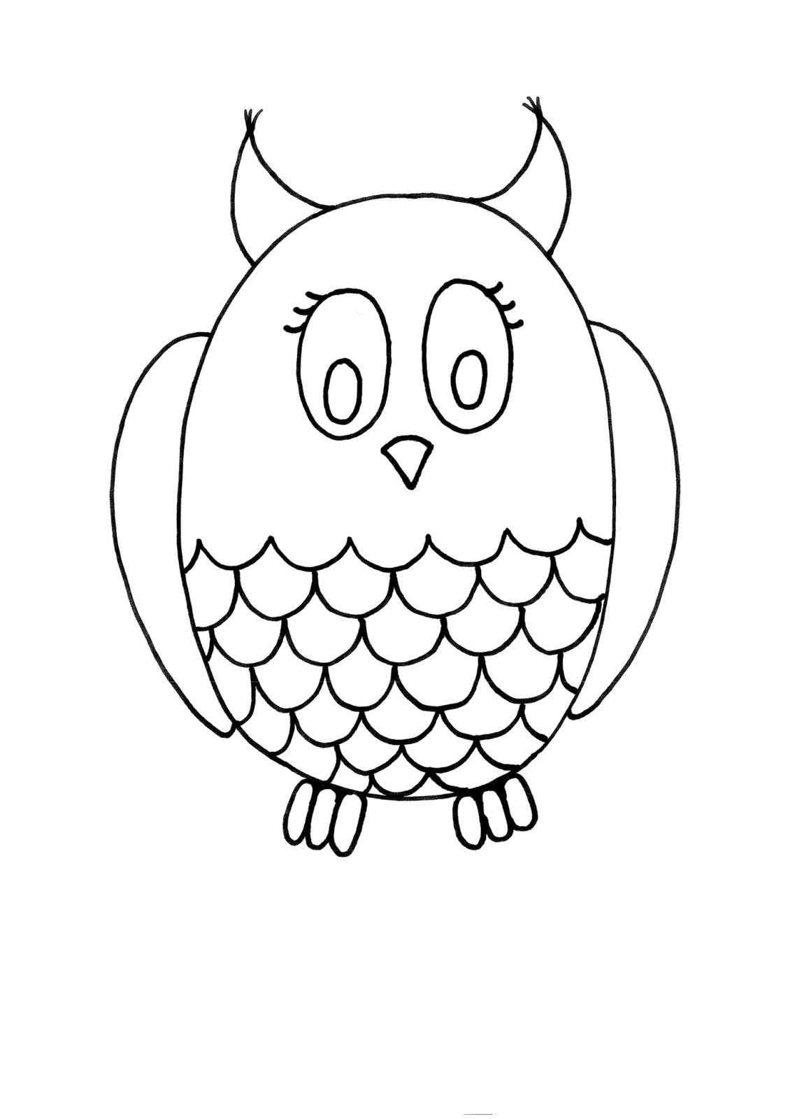Excelente Fácil Animal Para Colorear Imagen - Dibujos Para Colorear ...