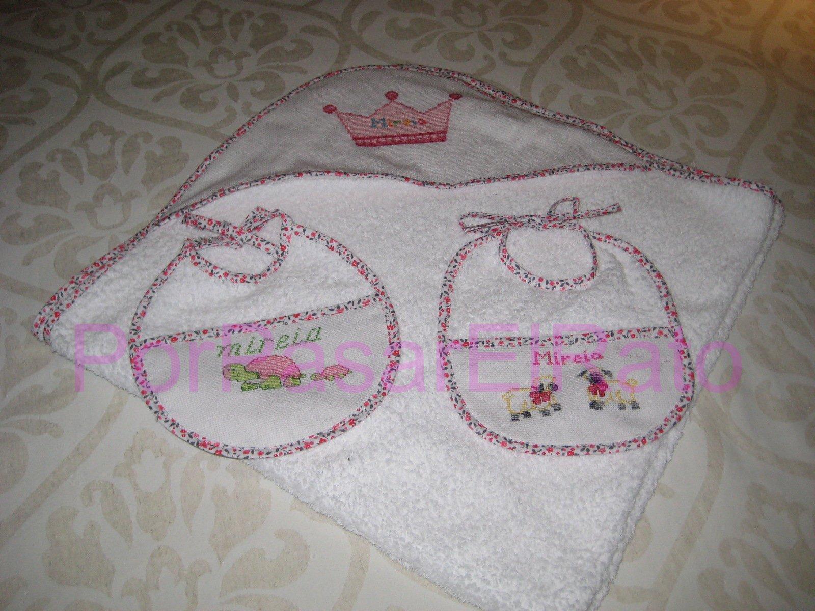 Porpasarelrato detalles para beb s - Capas de bano bebe personalizadas ...