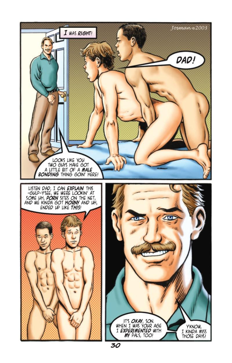 Son and dad gay porn