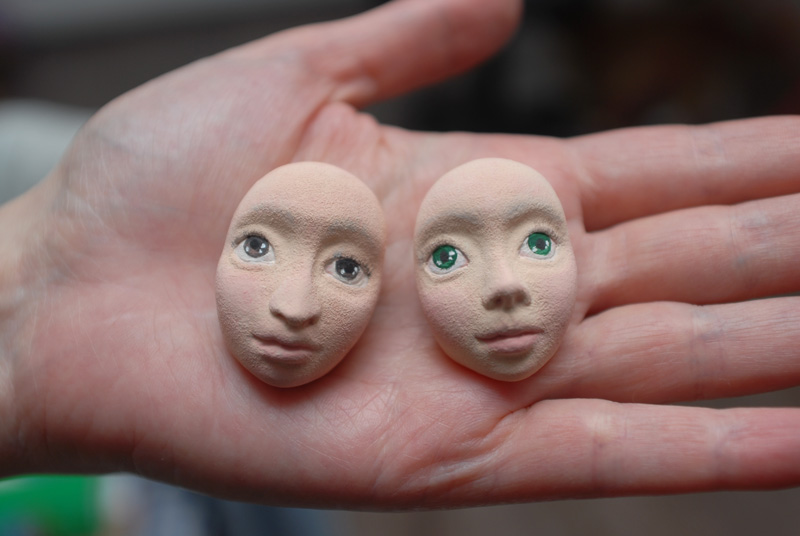 Как сделать слепок лица из полимерной глины