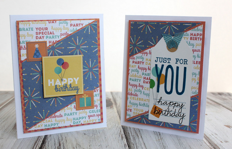 Taylor Stamped Birthday Cards