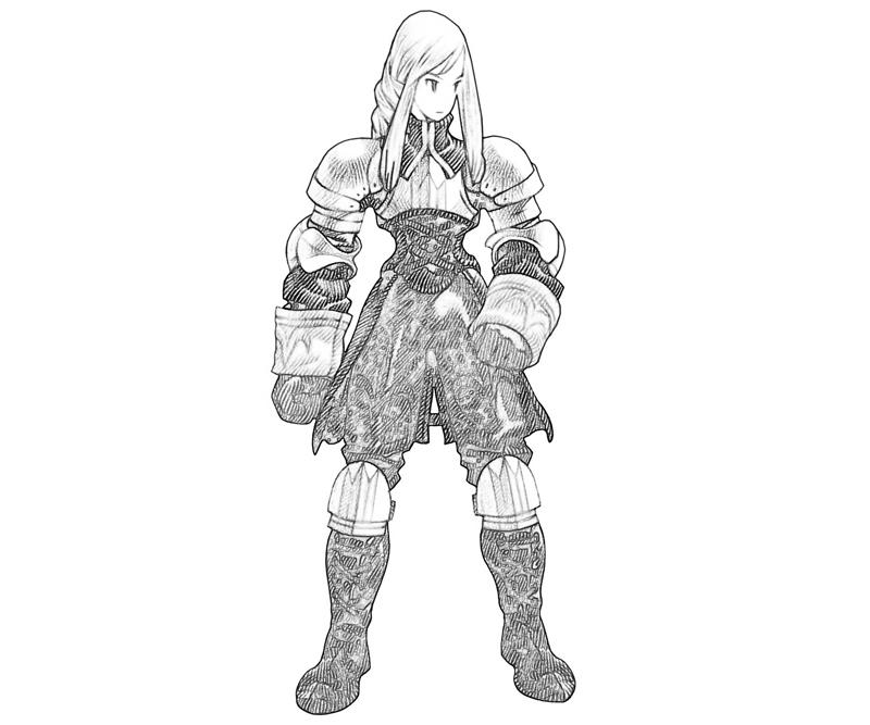 agrias-oaks-armor-coloring-pages