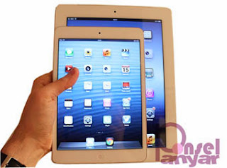 ukuran Apple iPad Mini