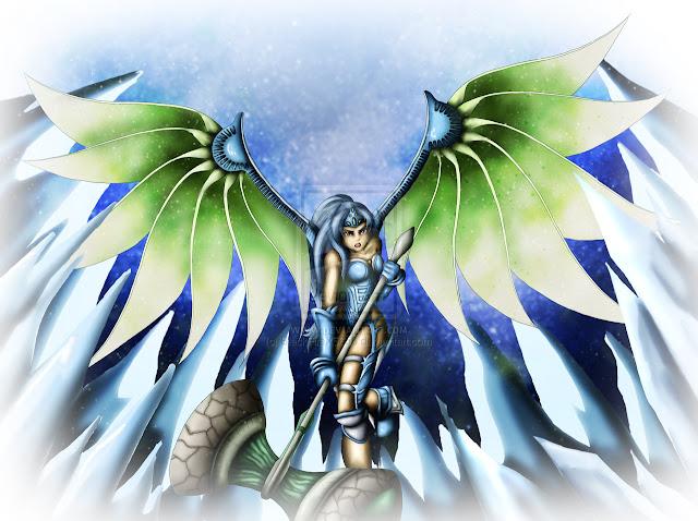 Blue Sea Dragoon por BlackFireX5656