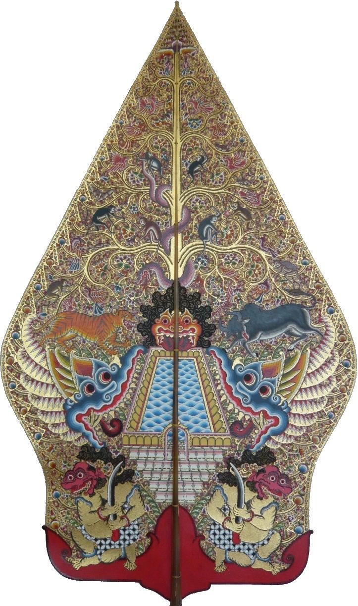 CC20341.com: Undangan Model Gunungan Wayang