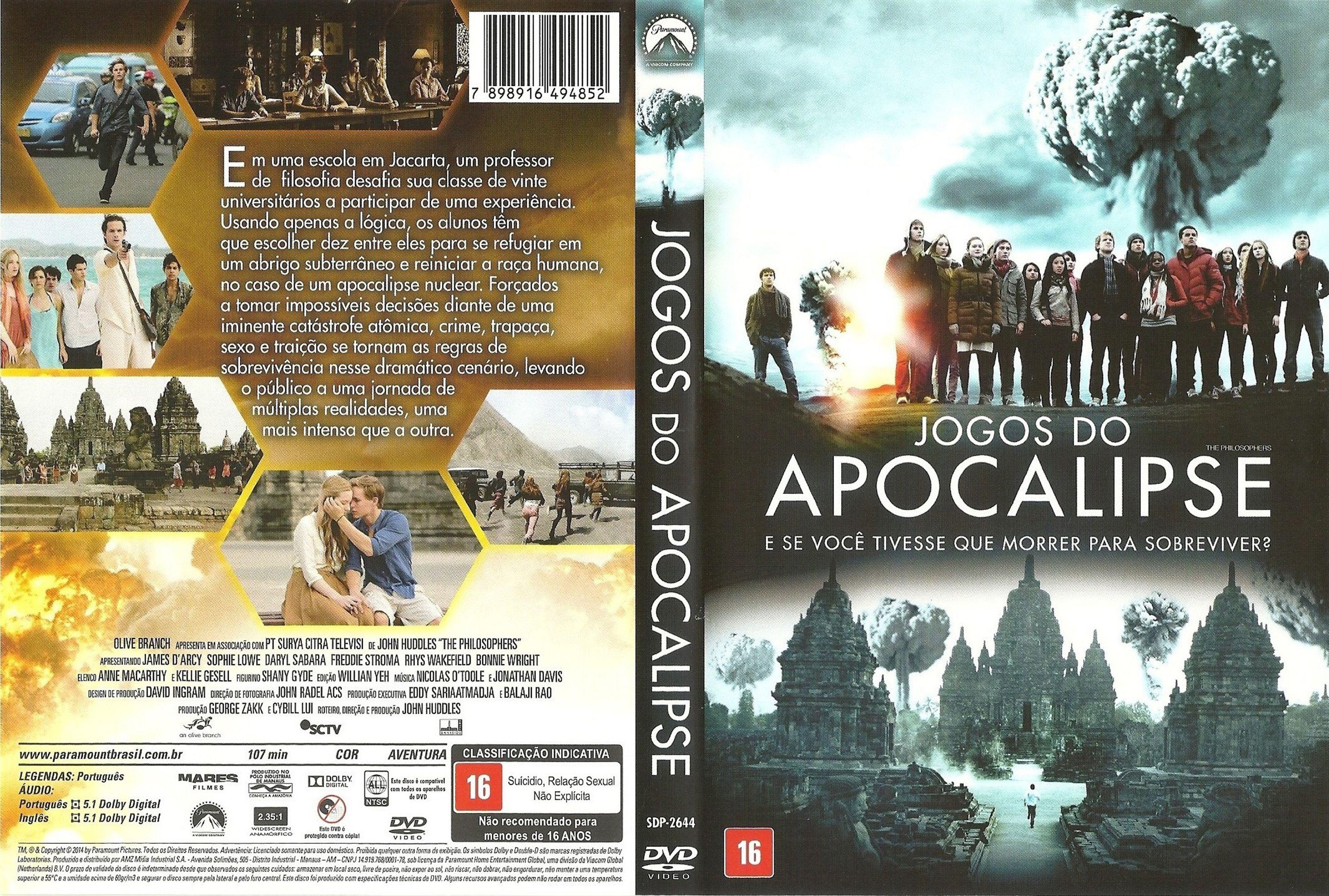 Capa DVD Jogos Do Apocalipse
