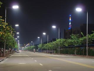 Instalación de iluminación y alumbrado