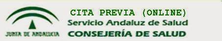 CITA PREVIA SERVICIO ANDALUZ DE SALUD