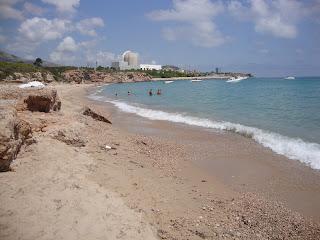 Small Beach turquoise sea photos - Vandellòs - l'Hospitalet de l'Infant -Tarragona - Spain