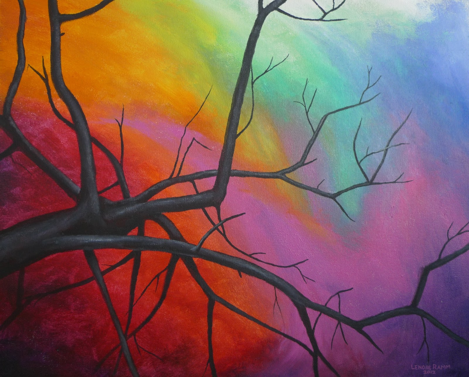 how to make a good abstract painting