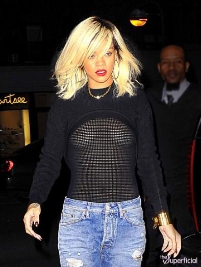 Rihanna - See Through Nipples