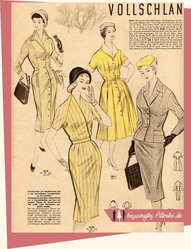 Praktische Mode, Zeitschrift, Nähzeitschrift, Handarbeitsheft, Nähen, 50er Jahre