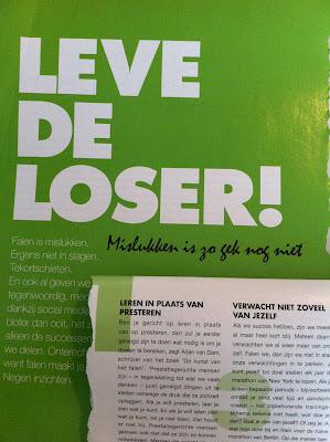 Artikel 'Leve de loser'
