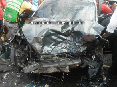Vereador de Forquilha sofre acidente, outras três vítimas estão em estado grave.