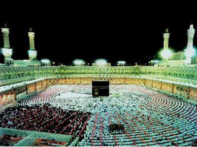 The Noor of Allah in Makkah, See Hajj Live Photos 2012 Online
