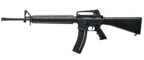 Hasil gambar untuk ilustrasi senjata laras panjang jenis M16