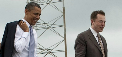 global isp president barack obama and elon musk