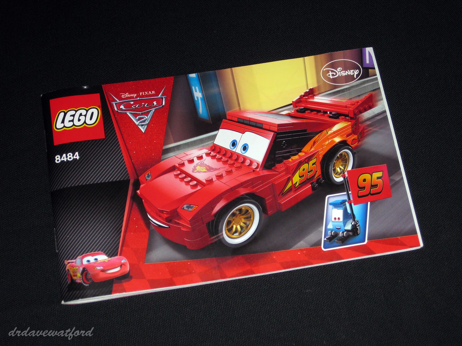 lego cars 2 lightning mcqueen instructions