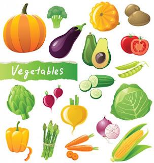 Dibujos de Verduras