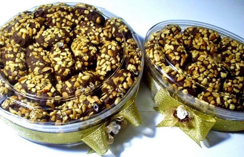 Resep Cara Membuat Kue Lebaran Kurma Coklat Kacang