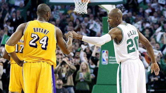 Under Boston Celtics Los Angeles Lakers Nba