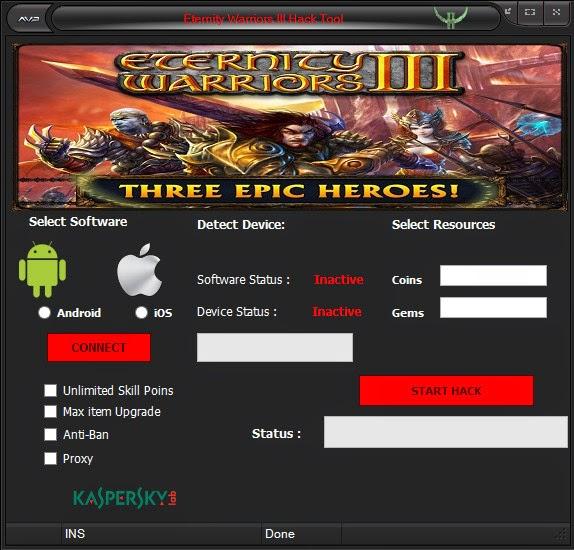 Eternity Warriors III Hack Tool