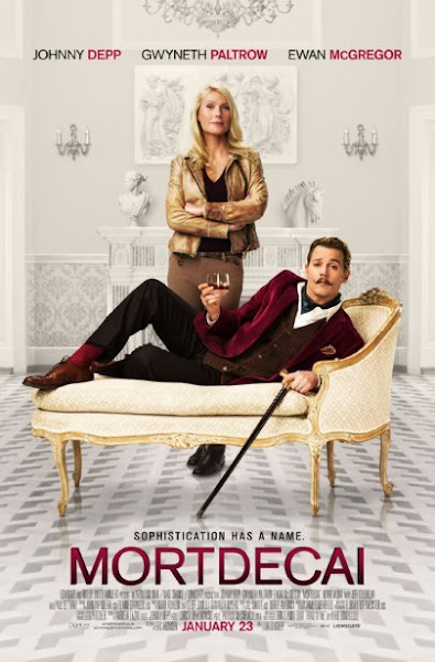 Poster Of Mortdecai 2015 720p BRRip English Full Movie Download