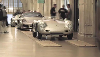 Porsche Boxster, Carrera GT, 550 in Grand Central Stration