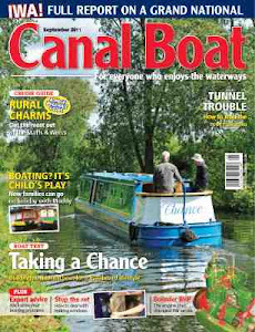 Chance's review in Canal Boat and Waterways World (click image)