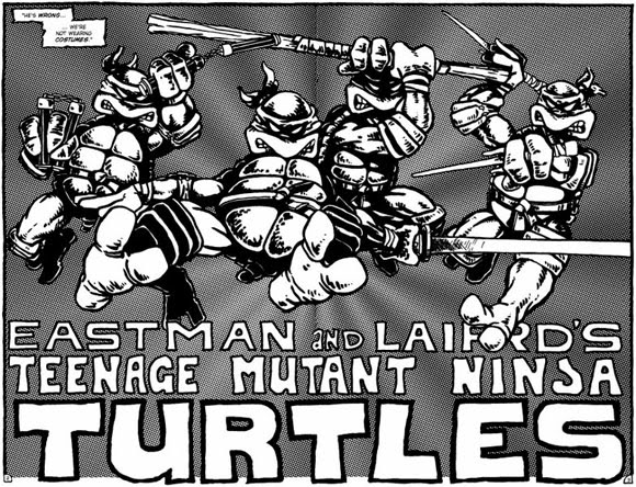 Primer cómic Tortugas Ninjas 1983