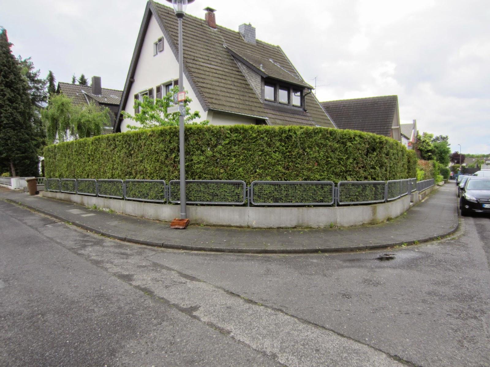 Gelander Auf Einer Gartenmauer Mit Edelstahlseilen Frobel Metallbau