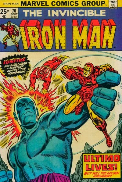 Iron Man #70, Sunfire and Ultimo