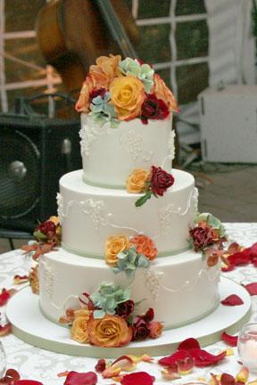 My Perfect Wedding Cake Fleur De Lisa